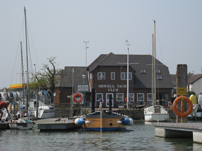 OYC Clubhouse from the water